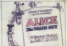 affiche alice comedies alice the beach nut walt disney animation studios poster