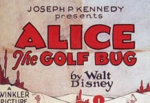 affiche alice comedies alice the golf bug walt disney animation studios poster