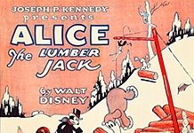 affiche alice comedies alice the lumberjack walt disney animation studios poster