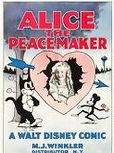 affiche alice comedies alice the peacemaker  walt disney animation studios poster