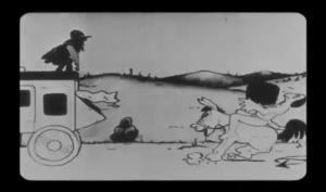 affiche alice comedies alice wild west show walt disney animation studios poster