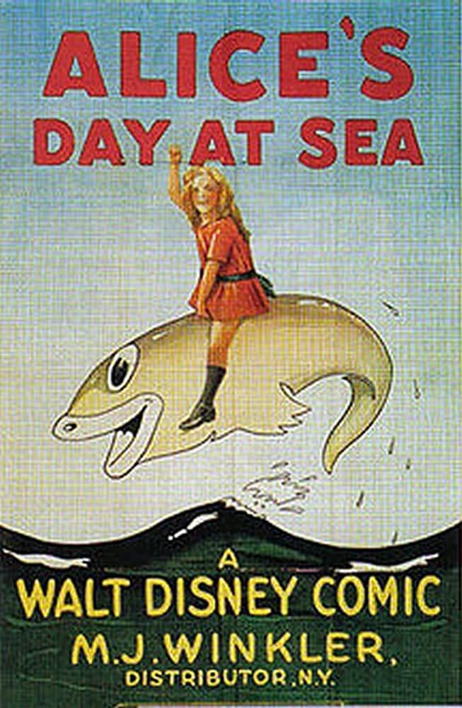affiche poster alice comedies day sea disney