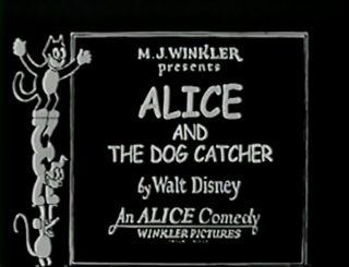 affiche poster alice dog catcher disney comedies