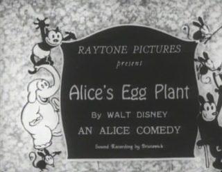 affiche poster alice egg plant disney comedies