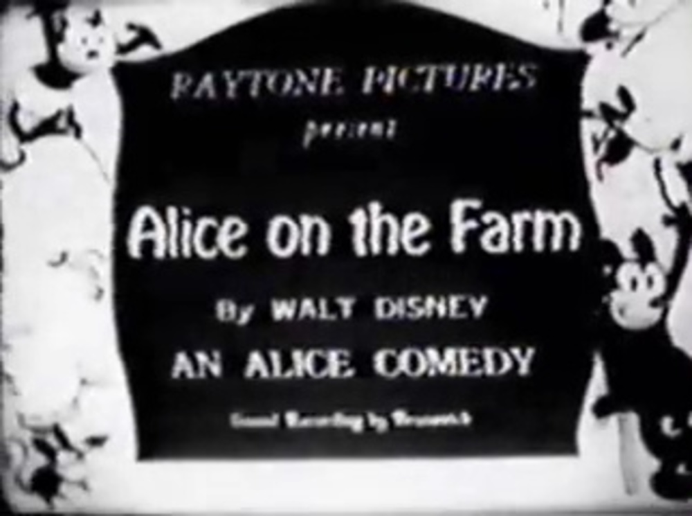 affiche poster alice farm comedies disney