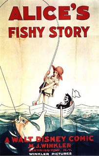 affiche poster alice fishy story comedies disney