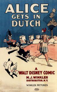 affiche poster alice comedies gets dutch disney