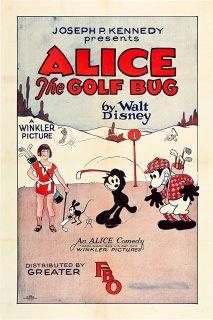 affiche poster alice comedies golf bug disney