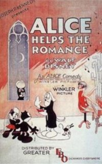 affiche poster alice helps romance disney comedies