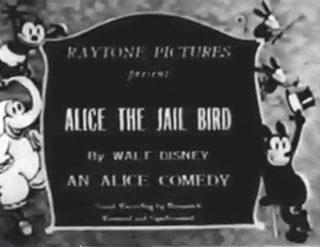 affiche poster alice jail bird disney comedies