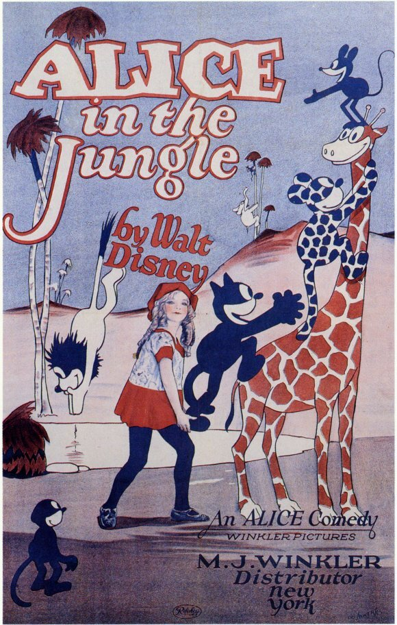 affiche poster alice comedies jungle disney