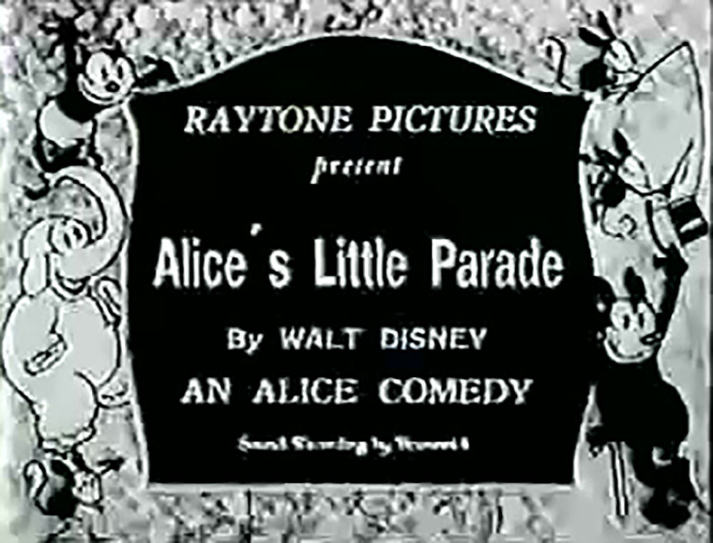 affiche poster alice little parade disney comedies
