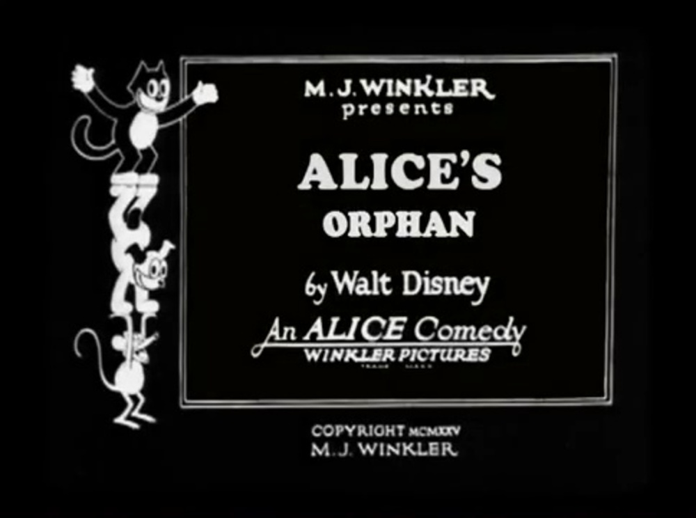 affiche poster alice orphan disney comedies