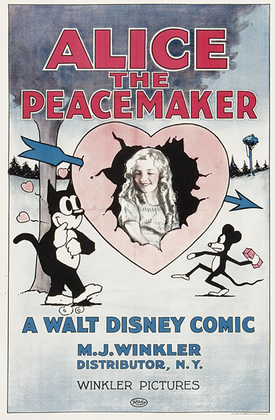affiche poster alice peacemaker disney comedies