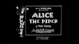 affiche poster alice piper disney comedies