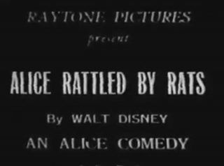 affiche poster alice rattled rats disney comedies