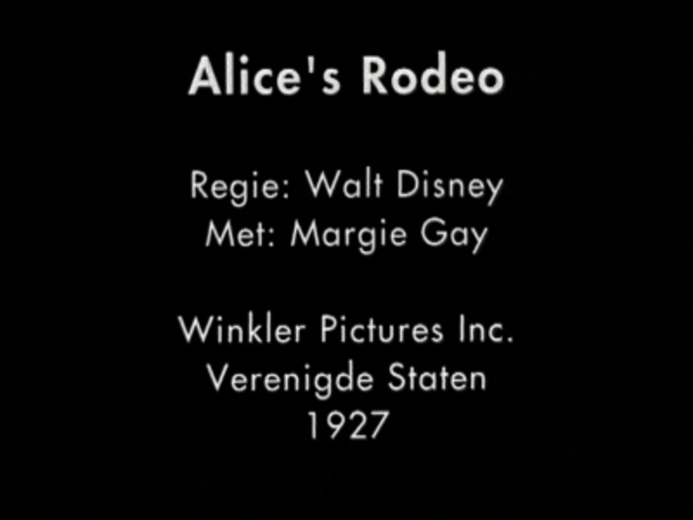affiche poster alice rodeo comedies disney