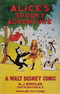 affiche poster alice spooky adventure disney comedies