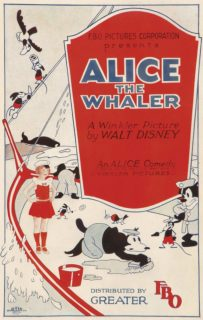 affiche poster alice whaler disney comedies