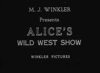 affiche poster alice wild west show comedies disney