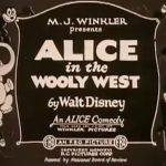 affiche poster alice wooly west disney comedies