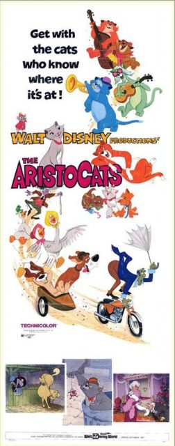 Affiche Les Aristochats Disney Poster The Aristocats