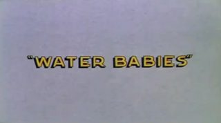 affiche poster bébés eau water babies disney silly symphony