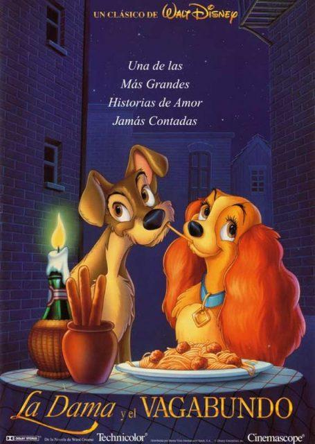 Affiche La belle et le clochard Disney Poster Lady and the tramp
