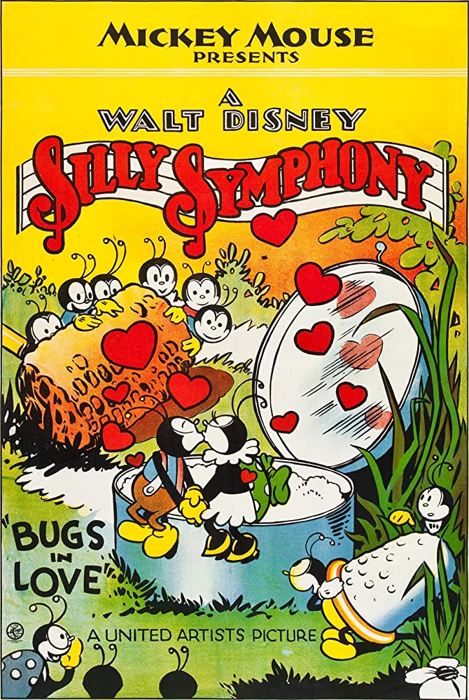 affiche poster bugs love disney silly symphony