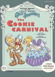 affiche poster carnaval gâteaux cookies disney silly symphony