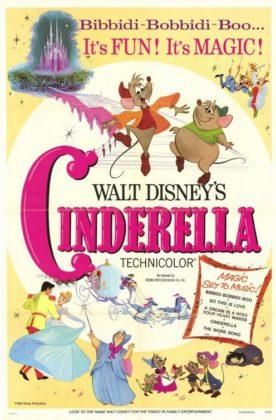 Affiche Cendrillon Disney Poster Cinderella