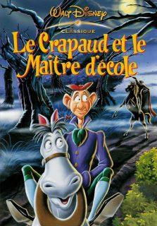 Affiche Le crapaud et le maître d'école Disney Poster The Adventures of Ichabod and Mr. Toad