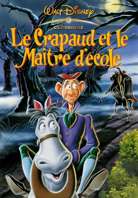 Affiche Le crapaud et le maître d'école Disney Poster The Adventures of Ichabod and Mr. Toad