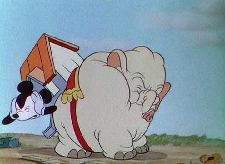 affiche elephant mickey walt disney animation studios poster mickey's elephant