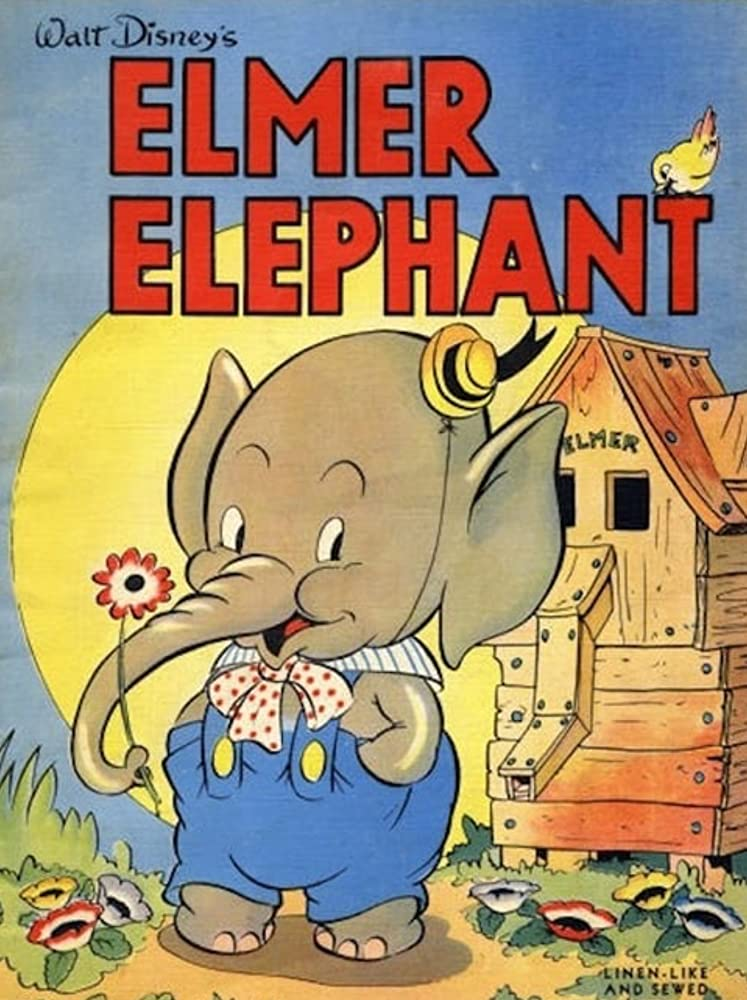 affiche poster elmer elephant disney silly symphony