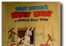 affiche equipe polo walt disney animation studios poster mickey polo team