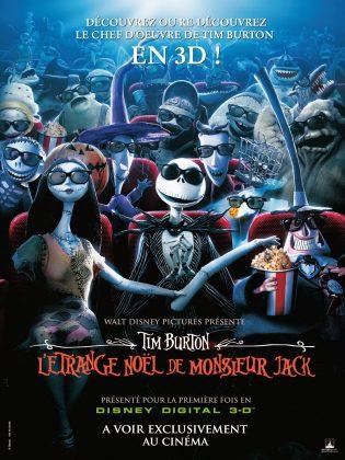 Affiche Poster étrange noel monsieur jack nightmare before christmas disney touchstone