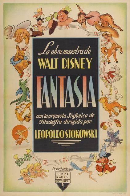 Affiche Fantasia Disney Poster