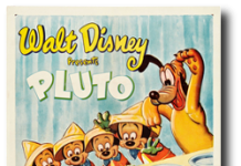 affiche fete pluto walt disney animation studios poster pluto party