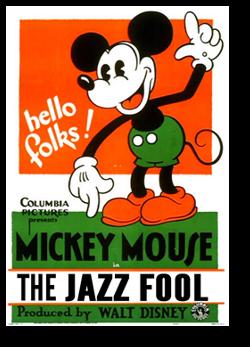 affiche fou jazz walt disney animation studios poster jazz fool