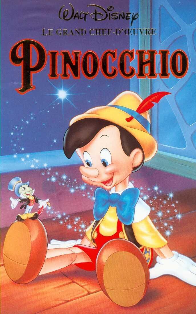 disney animation affiche poster pinocchio