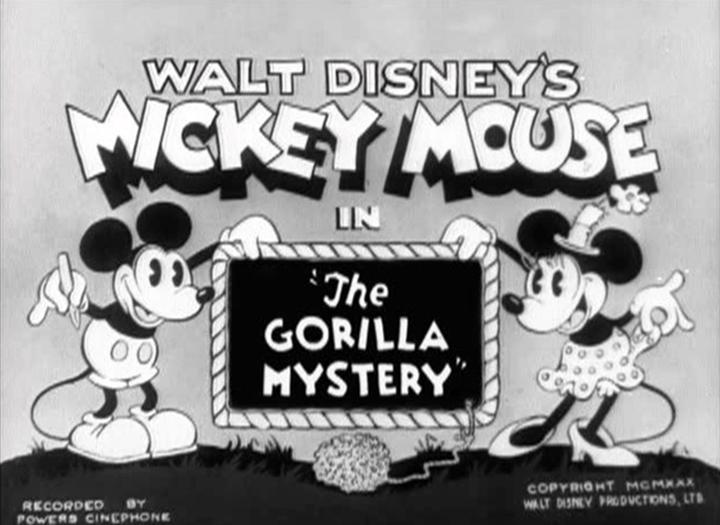 affiche gare gorille walt disney animation studios poster gorilla mystery