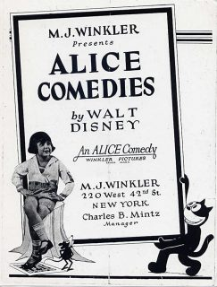 affiche poster alice comedies disney