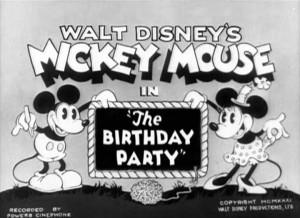 affiche gouter anniversaire walt disney animation studios poster birthday party