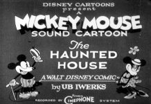 affiche haunted house walt disney animation studios poster