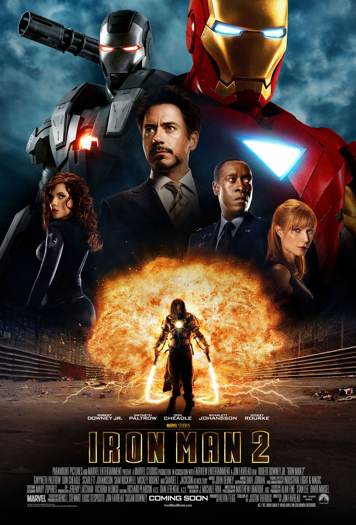 marvel studios affiche iron man 2 poster