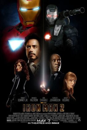 Affiche Poster Iron Man 2 Disney Marvel