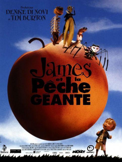 Affiche Poster james pêche géante giant peach disney
