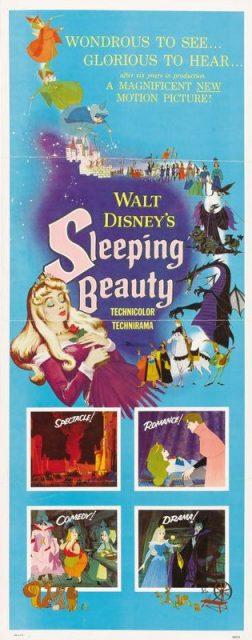Affiche La Belle au bois dormant Disney Poster Sleeping Beauty