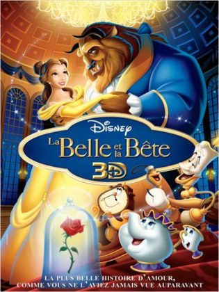 Affiche La Belle et la Bête Disney Poster Beauty and the Beast